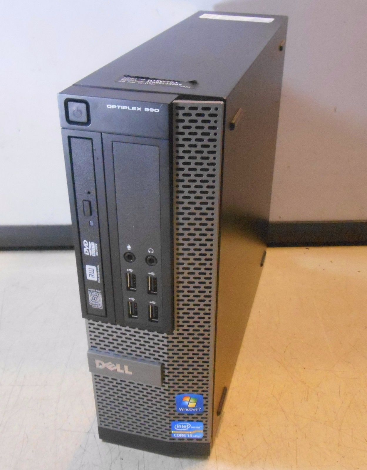 Dell OptiPlex 990 Mini Tower 4GB, 160GB with Optical Drive - Slightly Used