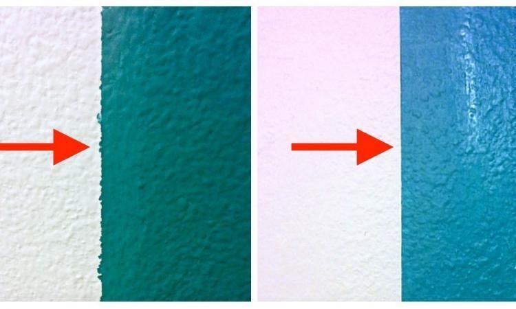 Voici le secret pour peindre des rayures parfaites et sans aucune