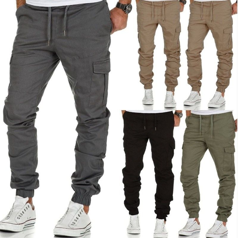 TIFENNY Yoga Capris for Women Sports Camouflage Sweatpants Casual High Waist Trousers Harem Jeans