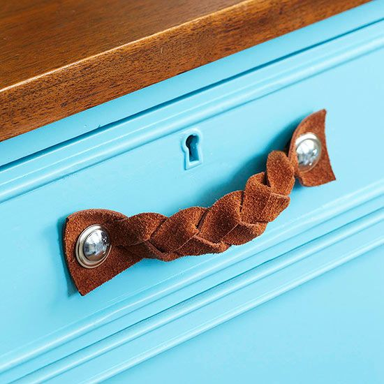 Easy Diy Kitchen Decorating Diy Kitchen Projects Leather Drawer