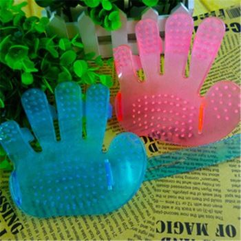 2015 neue Mode Haustier Massage Handschuh Schönheitspflege Pinsel Katzen Generisches Massage kreative Design