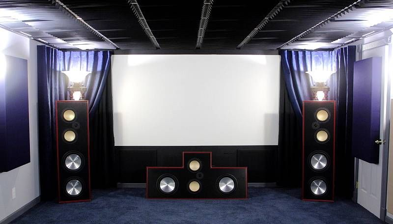 Erics Home Theater & DIY Audio Projects | Indoor and outdoor home ...