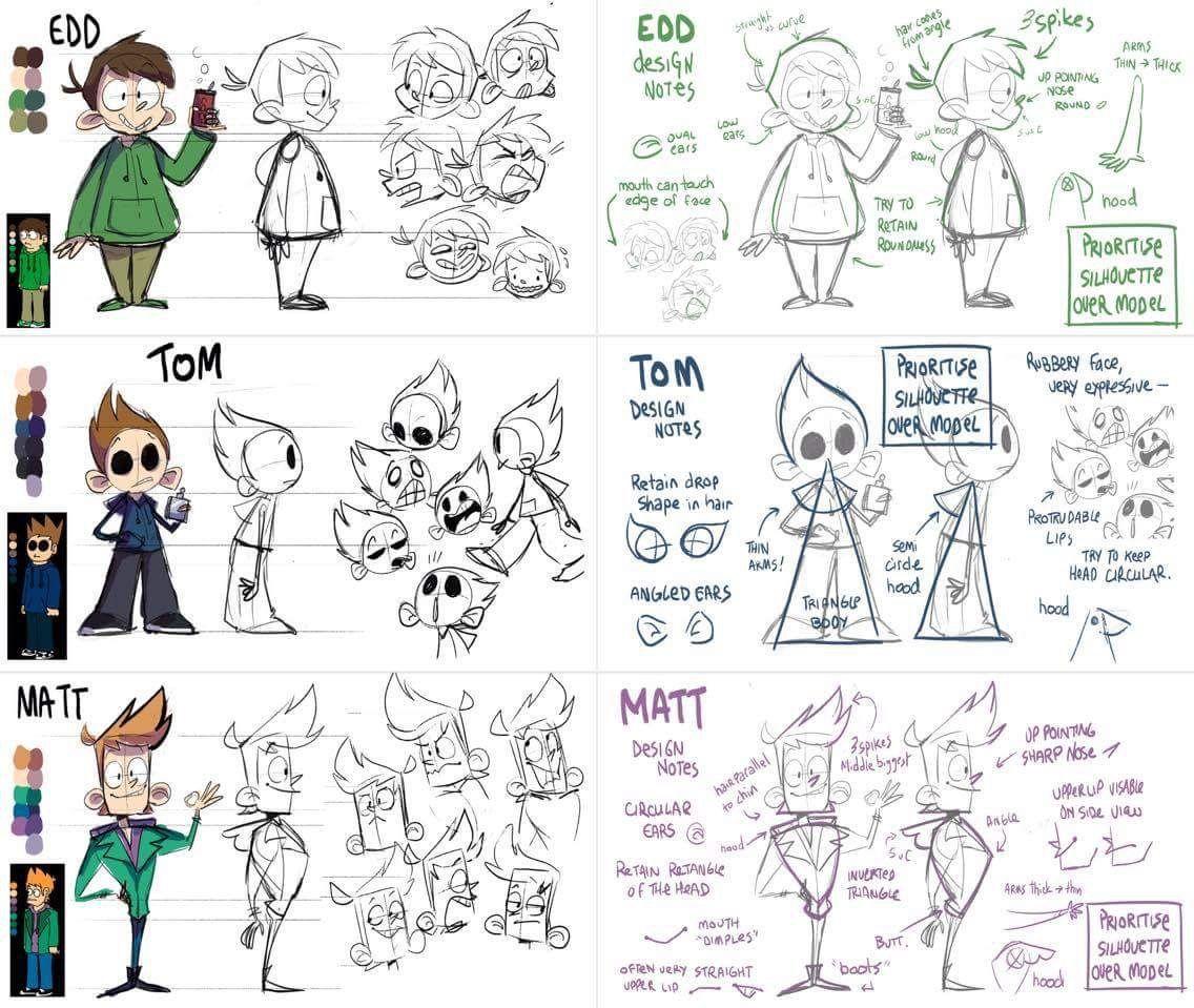 Edd, Tom, and Matt Eddsworld | Anime and other Fandoms | Epic art