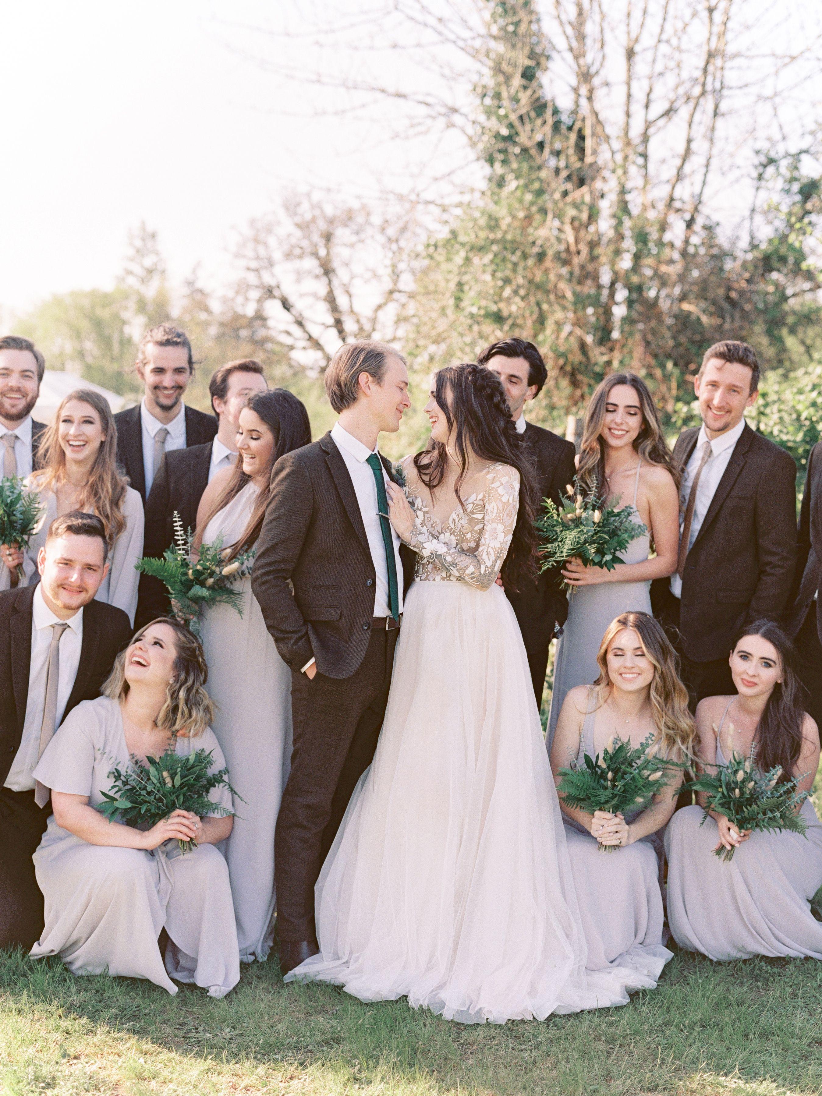 Dress by hayley paige oregon wedding photo by avamariaphoto