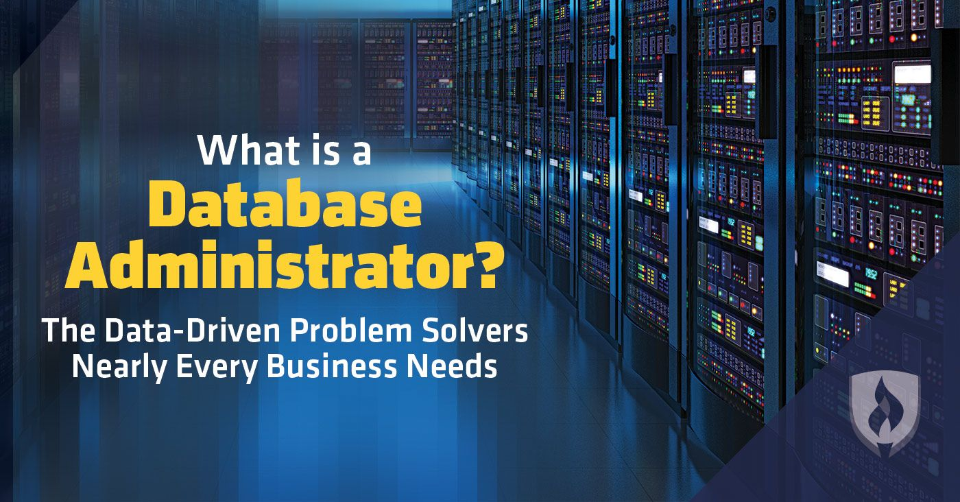 Are You A Data Driven Problem Solver Learn More About Database