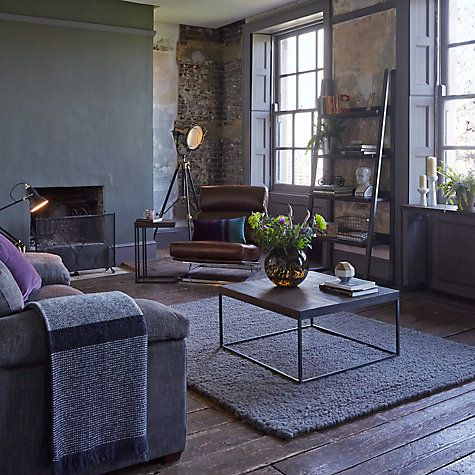Brilliant John Lewis Partners Calia Sofa Side Table Dark Living Gmtry Best Dining Table And Chair Ideas Images Gmtryco