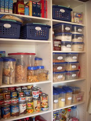 Pantry Make Over On The Cheap Like This Idea But Will Get