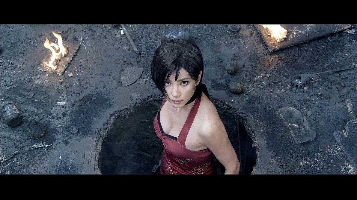 Resident Evil Retribution Ada Wong Li Bingbing