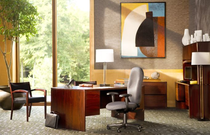Gently Used Office Furniture #CORT Awesome Ideas