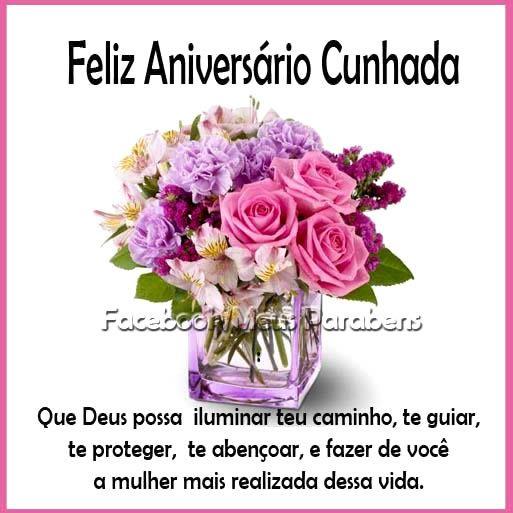 Mensagem De Aniversario Para Cunhada Linda Amigos Happy Birthday