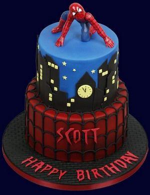 Spiderman Kids Birthday Cake Like Www Facebook Com Au
