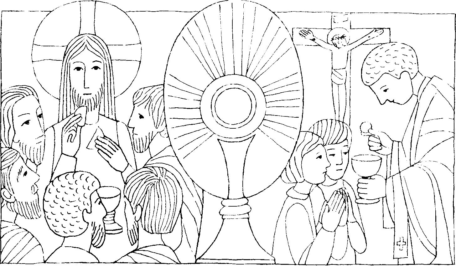 Christi Corpus Szukaj W Google Catholic Crafts Catholic Coloring Corpus Christi