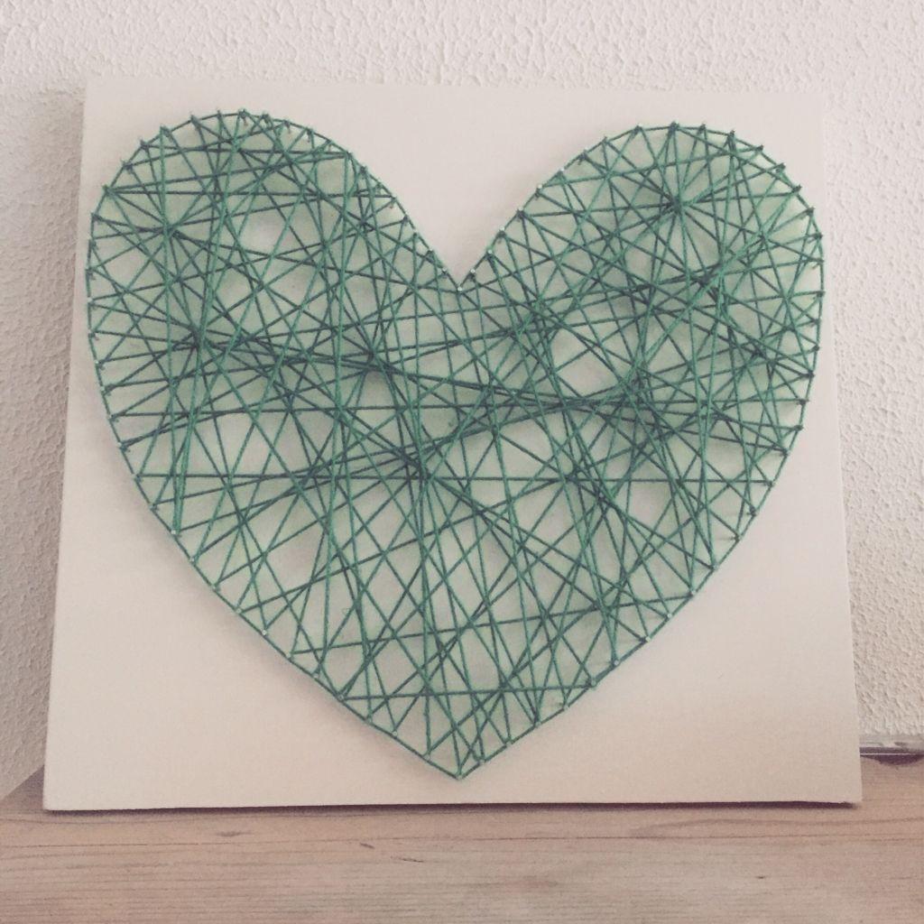 String-art hart!