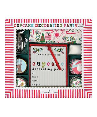 cute idea...cupcake decorating party...makes me think of my cousin rachel :)