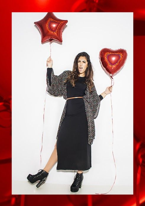 Red Balloon Ropa vestidos dress black balloons red new fashion clothes peruvian