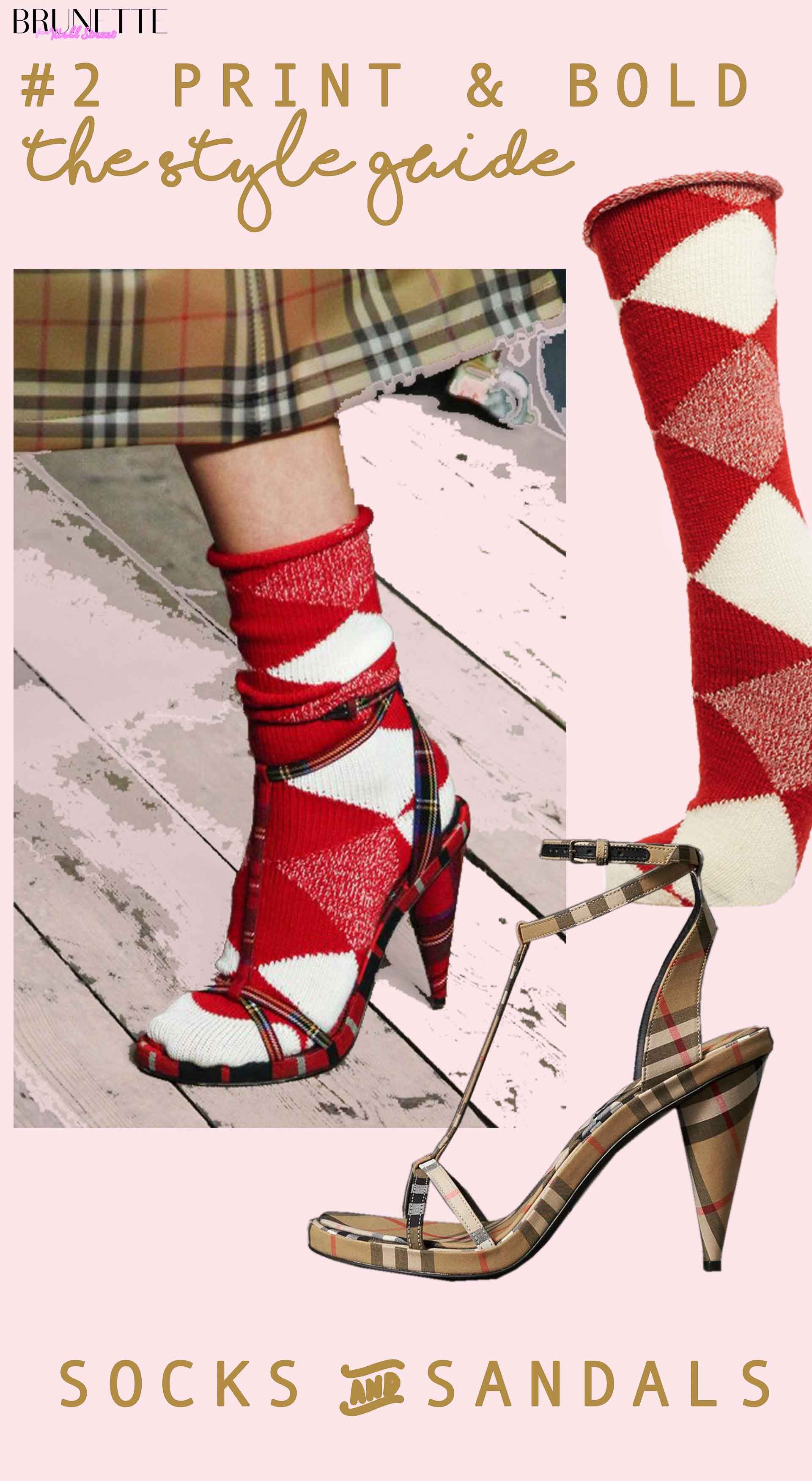 e951c7d2b Fashion Blogger Veronika Lipar of Brunette from Wall Street sharing 2 ways  to wear socks and
