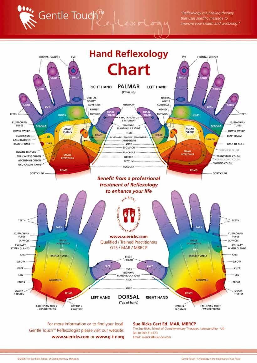 thumb forefinger touch reflexology