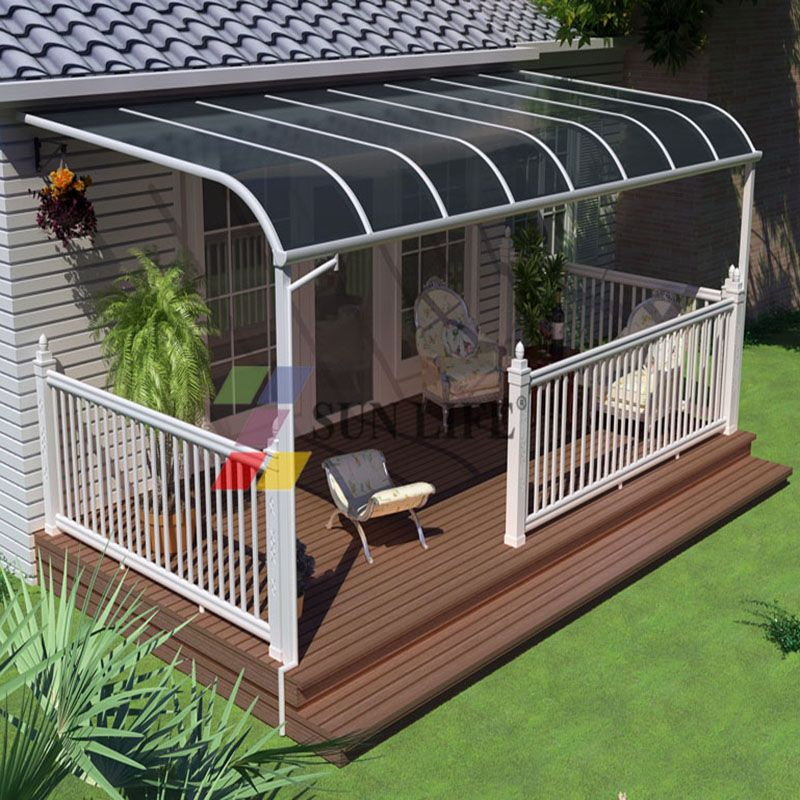 aluminium & polycarbonate outdoor awnings canopy 499 999 USD Set 15