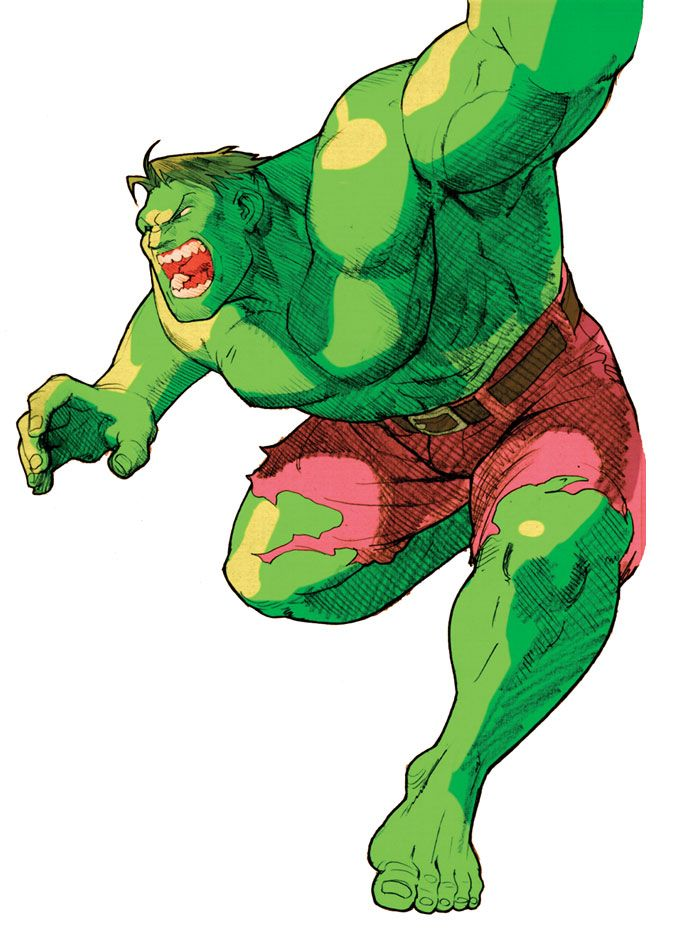Marvel vs  Capcom 2 Art & Pictures Hulk | Capcom (Everything