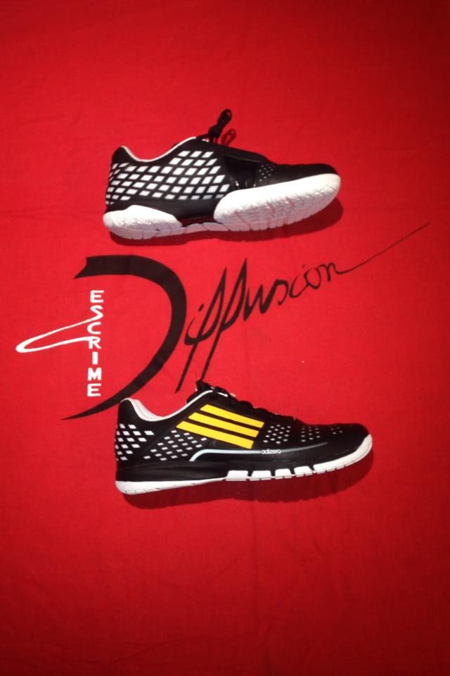 chaussure escrime adidas adipower