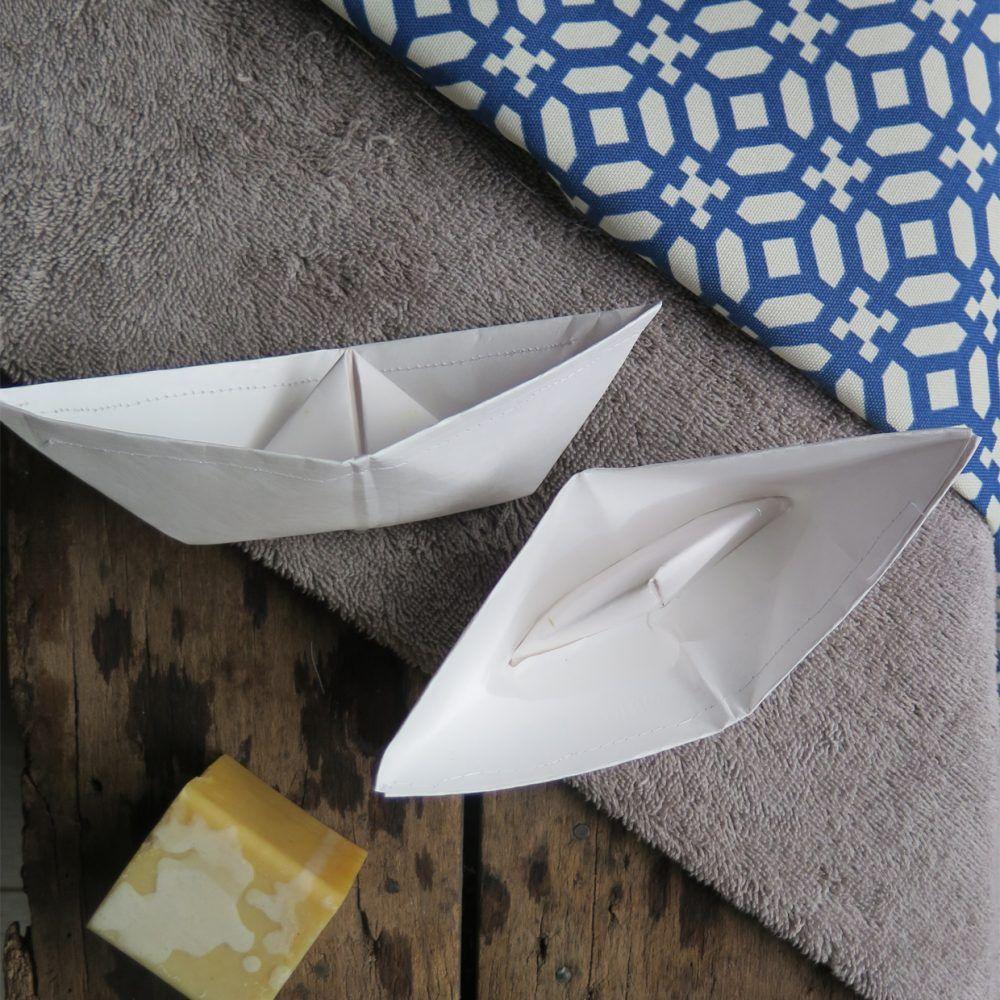 origami boats- bath toys