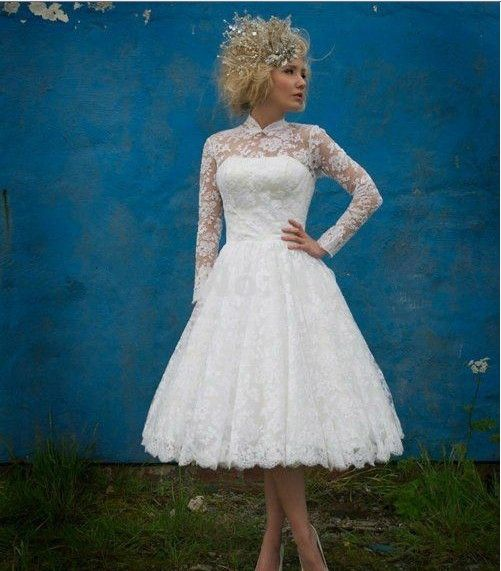 Aliexpress.com : Buy Ball Gown Fashion Illusion Neckline Long Sleeve ...