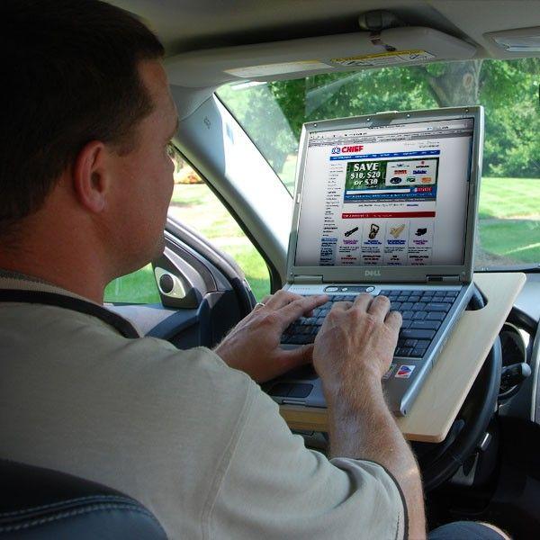 KMW Specialties Steering Wheel Desk, Notebook Size in 2019