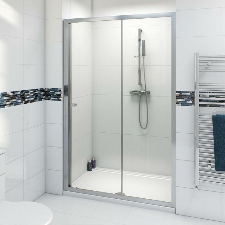 Sliding Shower Door Swinging And Fixed In 95 Ideas Furniture Design Decoration In 2020 Shower Doors Sliding Shower Door Frameless Sliding Shower Doors