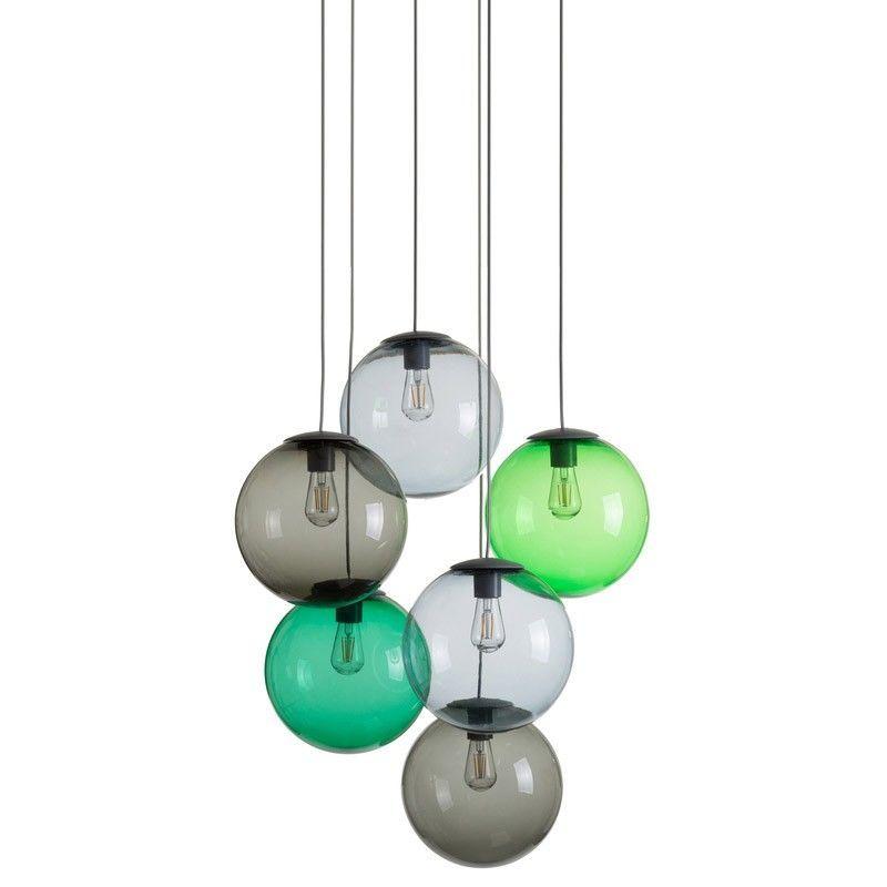 Spheremaker LED-Lampe 6-er Set, dimmbar (inkl Fernbedienung, Farben - lampe für wohnzimmer