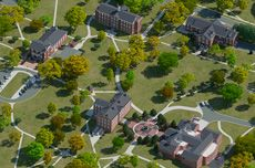 Loras Campus Map.Hampden Sydney College Campus Map And Tour The College Quest