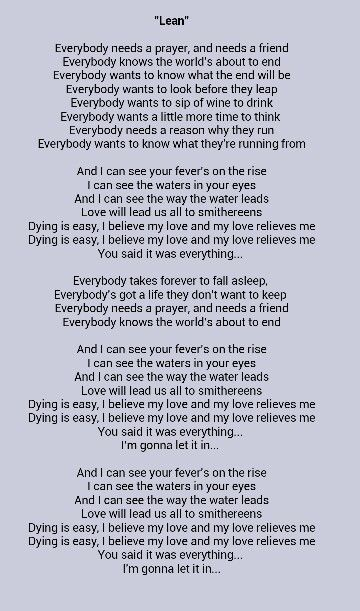 Lean -The National