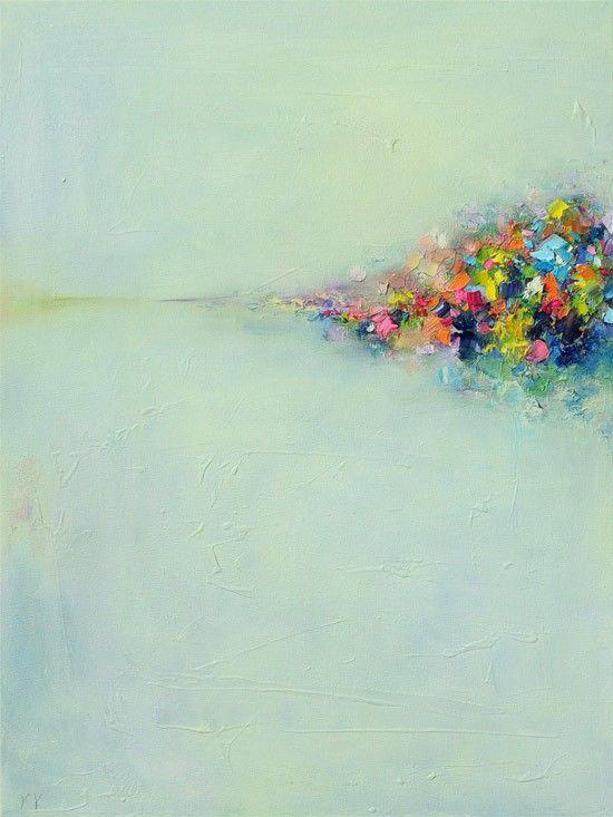 Fine Art Print - Giclee PRINT 8x10-Abstract Landscape