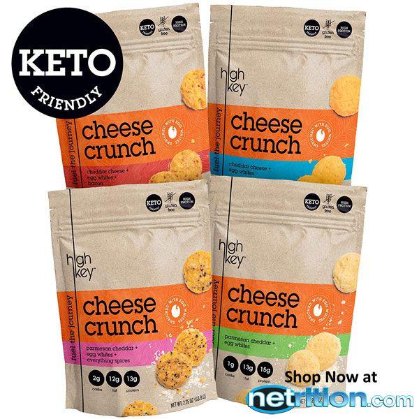 HighKey Snacks Cheese Crunch