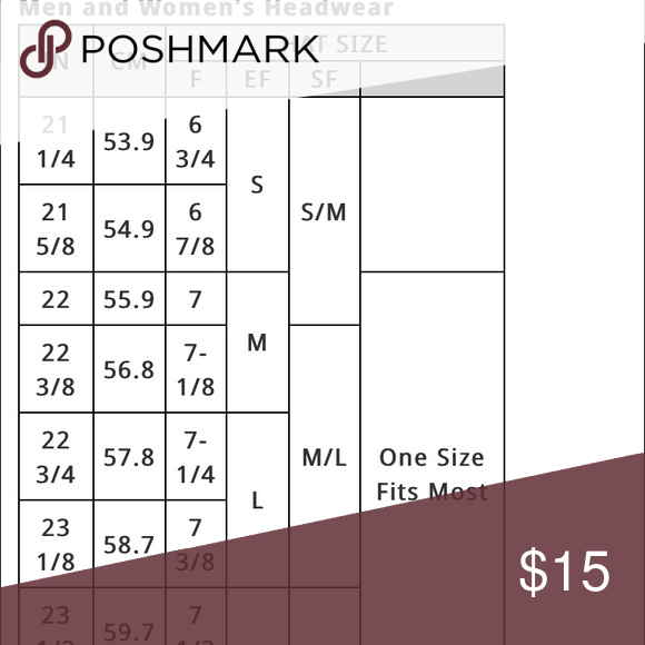 Size Chart Lids Franchise The Perfect Fit Fitted Hat Twins Enterprise Hats Several Size Small In My Closet Acces Women S Headwear Size Chart Fitted Hats
