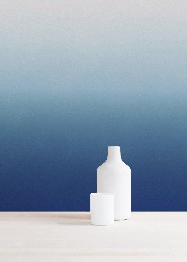 Le tie dye en papier peint et déco murale * Blog déco de MLC