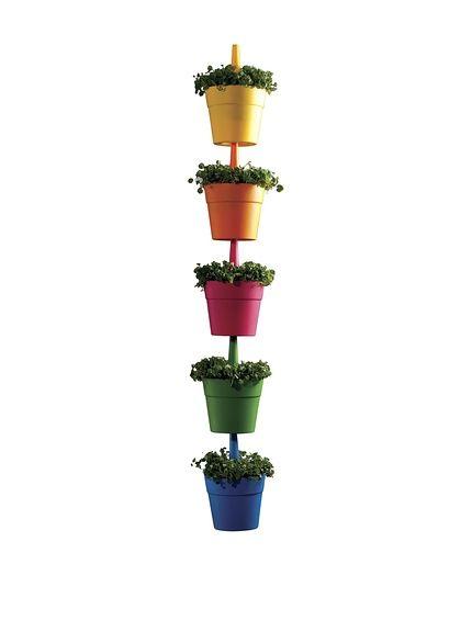 Curver set macetas rainbow multicolor en amazon buyvip for Amazon muebles terraza