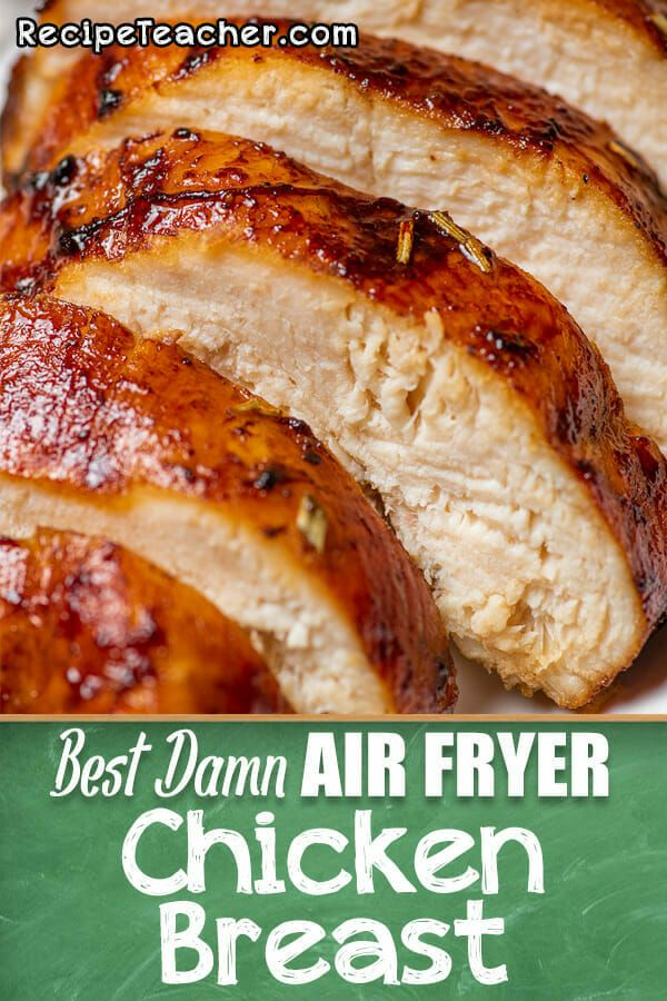 Best Damn Air Fryer Chicken Breast - RecipeTeacher -   19 air fryer recipes chicken boneless keto ideas