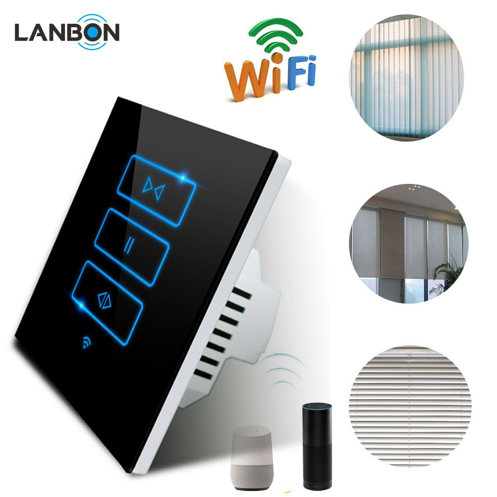 Smart Home Automation APP Remote Control WiFi Touch Curtain