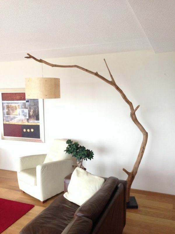 Wohnzimmer lampenschirm lampen günstig design treibholz