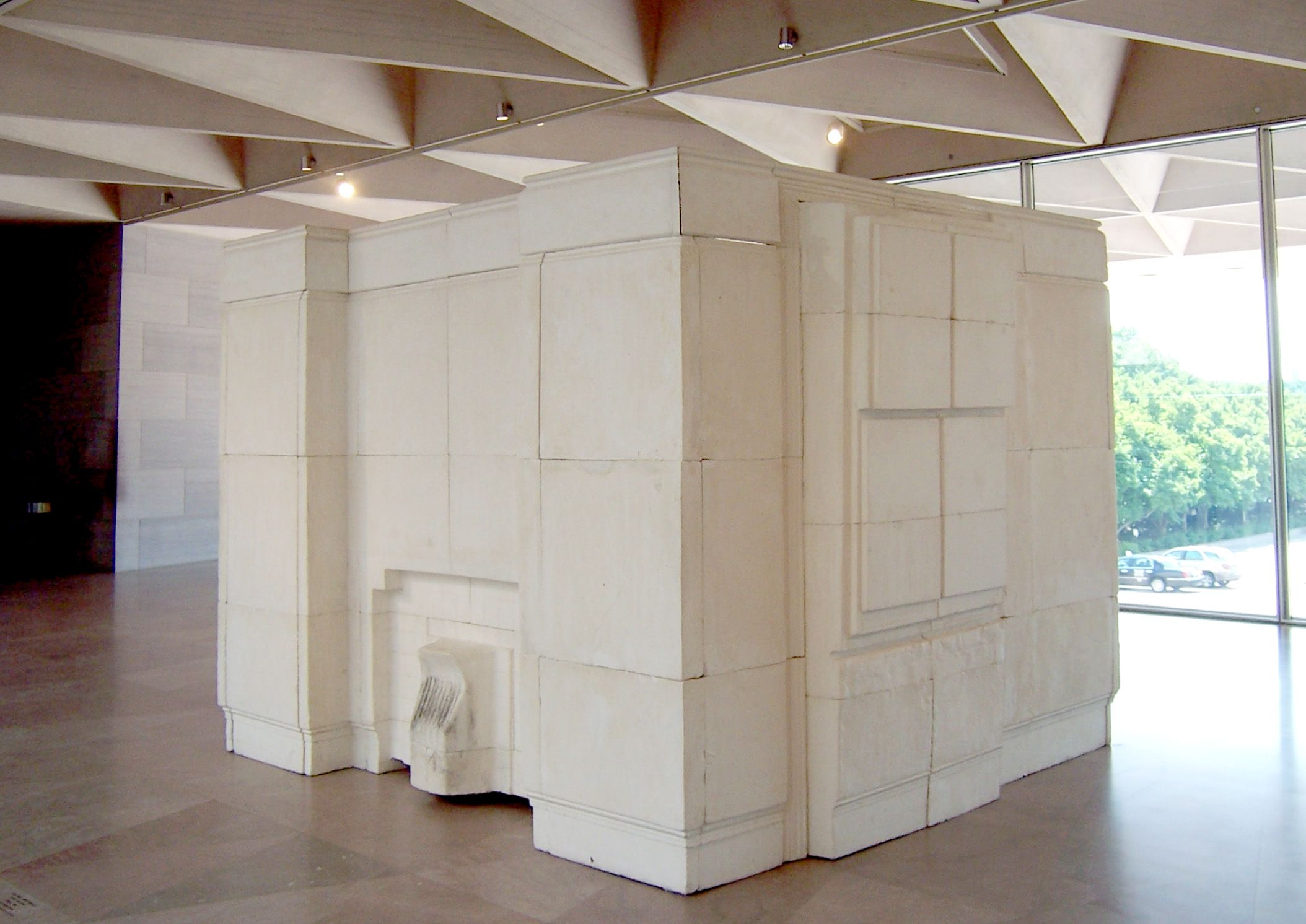 Rachel Whiteread  Exposed Fireplace