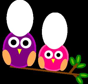big and little pink and purple owls clip art crafty pinterest rh pinterest com Electric Guitar Clip Art Camping Clip Art