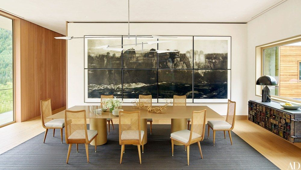 Shawn Henderson I Ad I Alt For Living I Rug  Alt I Installations Fair Aspen Home Dining Room Furniture Decorating Design