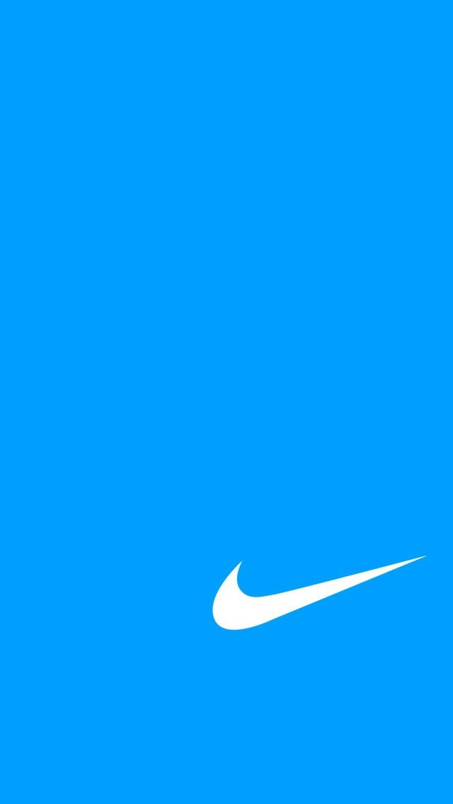 Blue Logo Nike Brands Nike Blue Nike Wallpaper Blue Wallpaper Iphone Nike Wallpaper Iphone