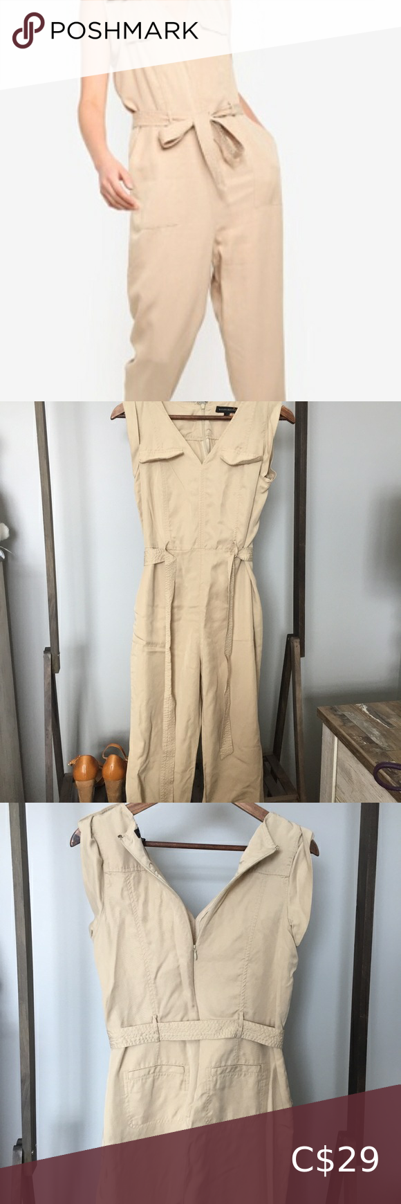 🌸4for$30 Banana Republic Jumpsuit