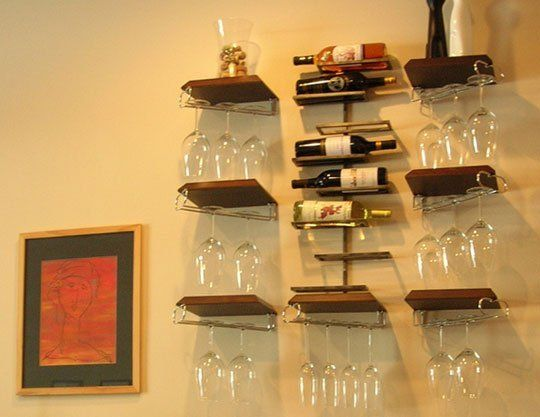 Stylish Wine Racks To Display Your Bottles If You Don T Have A Ton