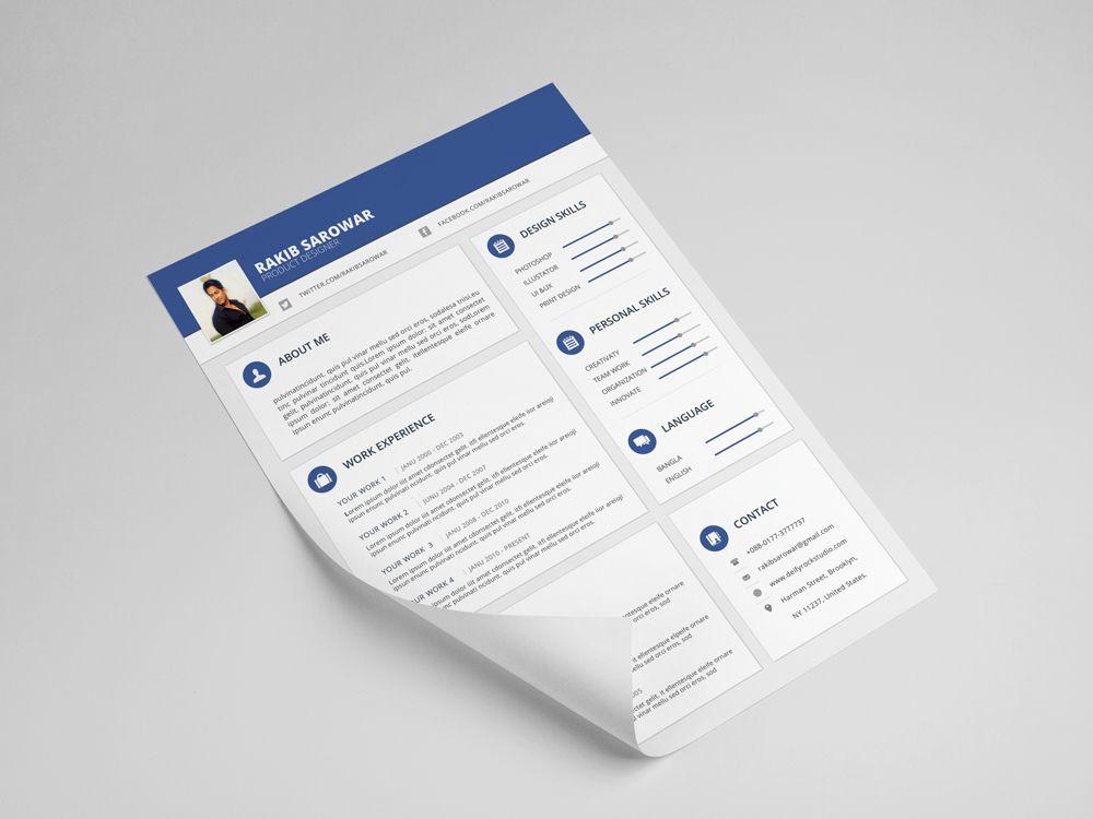 Pin by abdallah darwish on design cv template