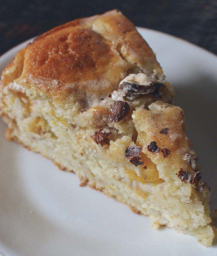 Easy Dessert Recipe: Peach Yogurt Cake with Cinnamon Glaze — Recipes from The Kitchn