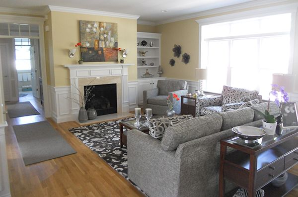 Customer At Home Design Home Living Room Boston Interiors Interior