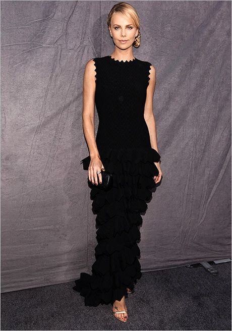 Charlize Theron in ALAIA