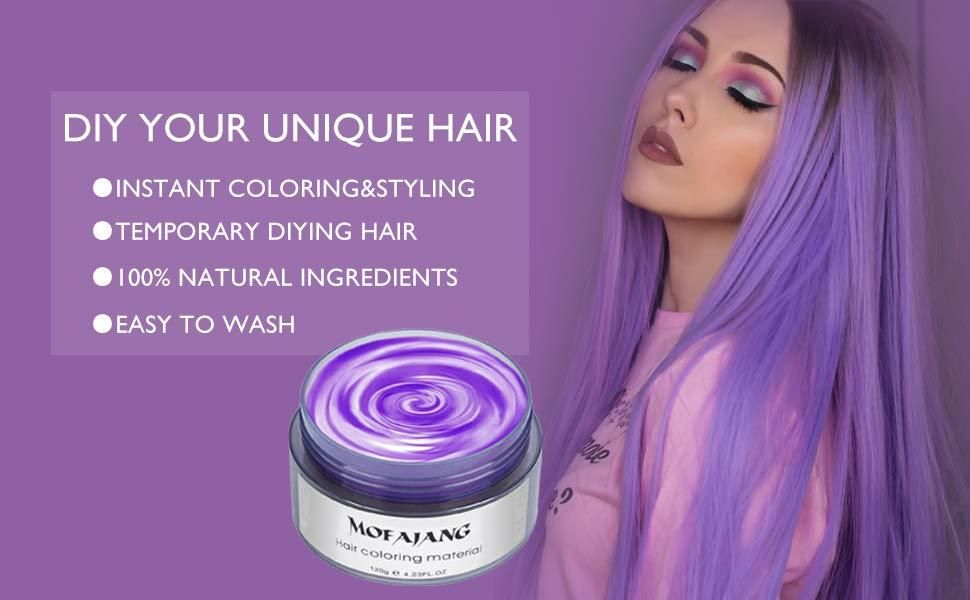 by Glam Wax Temporary hair dye